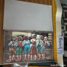 Postales: OFERTAS X LOTES FELICITACION NAVIDADEÑA POSTALES NAVIDAD Ó CHRISTMAS. DECORACION PORTAL BELEN. Lote 264694729