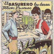 Postales: FELICITACIÓN NAVIDAD BASURERO. Lote 266375148