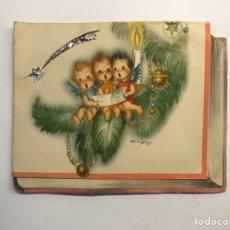 Postales: FELICITACIÓN NAVIDEÑA. POSTAL TROQUELADA. ILUSTRA FREIXAS. EDIC., FREIXAS M.C.6, (A.1954) DEDICADA... Lote 267512974