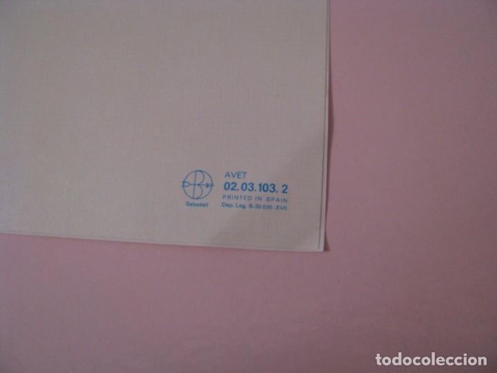 Postales: POSTAL DIPTICA DE IL. ROSER PUIG. ED. SABADELL AVET. 02.03.103.2. 16,5X8,5 CM. SIN CIRCULAR. - Foto 2 - 268597159