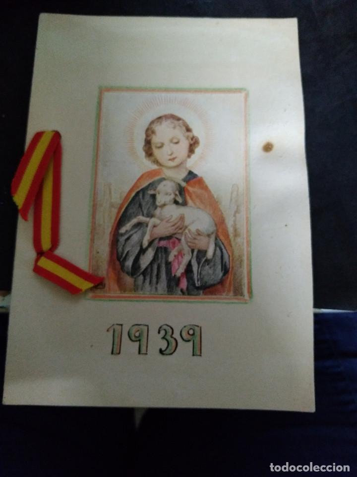 FELICITACION NAVIDAD AÑO 1939 (Postales - Postales Temáticas - Navidad)