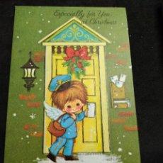 Postales: FELICITACION NAVIDAD * ANGELITO CARTERO *. Lote 269155138