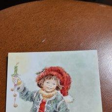 Cartes Postales: PRECIOSA POSTAL DE NAVIDAD ROSA BATLLÉ. SIN ESCRIBIR.. Lote 270255663
