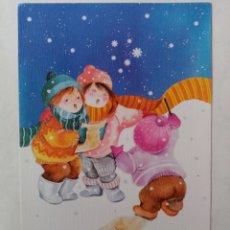 Postales: FELICITACIÓN NAVIDAD - ANNA LLORENS - EDICIONES SUBI. Lote 270375998