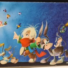 Cartoline: PRECIOSA POSTAL DE NAVIDAD. GABRIEL. CYZ. DIPTICO. SIN ESCRIBIR.. Lote 273614733
