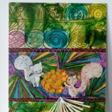 Postales: FELICITACIÓN NAVIDAD - EDICIONES SABADELL MIRACLE - ARDILLAS - ANIMALITOS - 1971. Lote 274841833