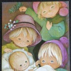 Cartes Postales: 7327A - EDICIONES ORTIZ X402 - DIPTICA 16,5X11,5 CM - DATA 1977- ILUSTRA MARIA. Lote 275125083