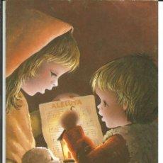 Cartoline: FELICITACION NAVIDAD *JOAN*, CANTANDO VILLANCICOS - DIPTICA,15X11 CM. Lote 275146723
