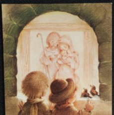 Cartes Postales: 7313B - ROSER PUIG - EDICIONES BUSQUETS 02.02.252.1 - DIPTICA 13X8,8 CM - DATA 1980. Lote 276725538