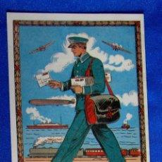 Postales: FELICITACIÓN NAVIDEÑA: CON TARIFAS EN DORSO. EL CARTERO. FELICES FIESTAS BONES FESTES, 1989.. Lote 276818128