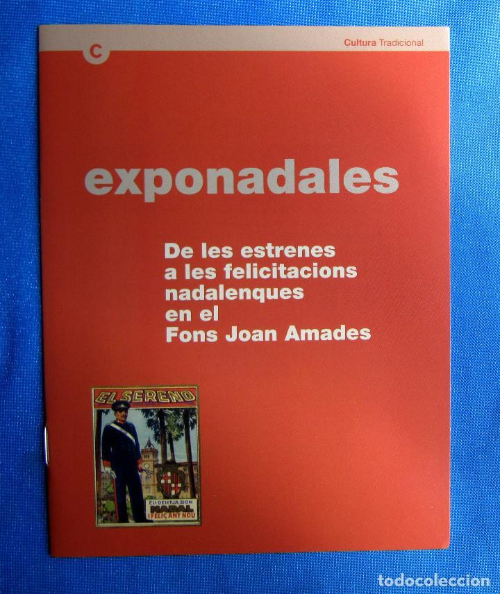 Postales: EXPONADALES. EXPOSICIÓN DE FELICITACIONES NAVIDEÑAS. FELICITACIÓN NAVIDAD. FONS JOAN AMADES, 2004. - Foto 6 - 276821458