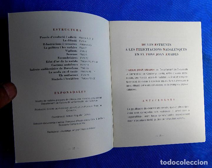 Postales: EXPONADALES. EXPOSICIÓN DE FELICITACIONES NAVIDEÑAS. FELICITACIÓN NAVIDAD. FONS JOAN AMADES, 2004. - Foto 7 - 276821458