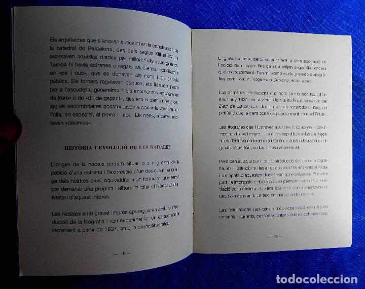 Postales: EXPONADALES. EXPOSICIÓN DE FELICITACIONES NAVIDEÑAS. FELICITACIÓN NAVIDAD. FONS JOAN AMADES, 2004. - Foto 8 - 276821458