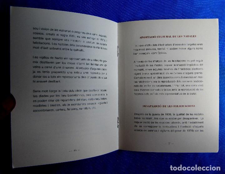Postales: EXPONADALES. EXPOSICIÓN DE FELICITACIONES NAVIDEÑAS. FELICITACIÓN NAVIDAD. FONS JOAN AMADES, 2004. - Foto 9 - 276821458