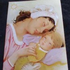 Cartoline: FELICITACION NAVIDAD MRG * LA VIRGEN CON EL NIÑO * 1982. Lote 129404551