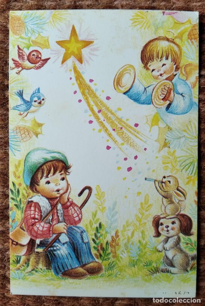 TARJETA DE FELICITACION DE NAVIDAD (Postales - Postales Temáticas - Navidad)