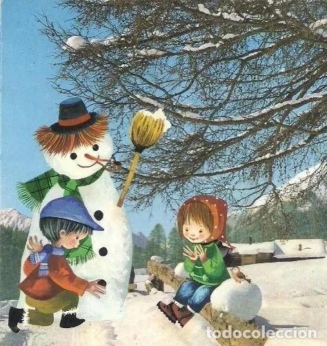 7340B - SALMONS - EDICIONES SABADELL SERIE MIRACLE 4348 - DIPTICA 16,8X12 CM - DATA 1966 (Postales - Postales Temáticas - Navidad)
