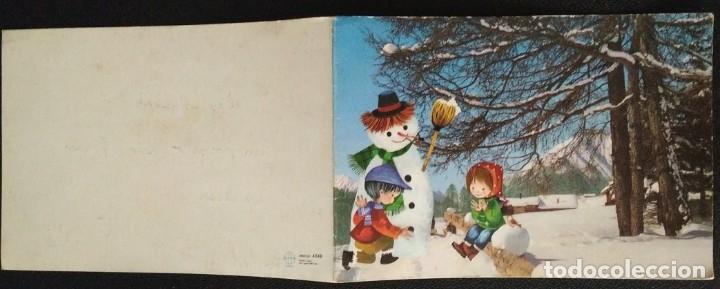 Postales: 7340B - SALMONS - EDICIONES SABADELL SERIE MIRACLE 4348 - DIPTICA 16,8X12 CM - DATA 1966 - Foto 3 - 277522643
