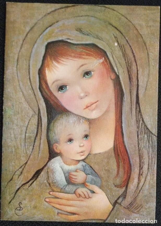7341B - EDICIONES SERIAFE SERIE 5507 - DIPTICA 15,5X11 CM - ILUSTRA LC (Postales - Postales Temáticas - Navidad)
