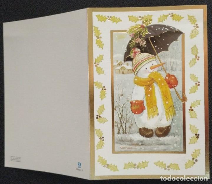 Postales: 7342B - CONTIJOCH - UN PRECIOSO MUÑECO DE NIEVE -EDICIONES SUBI 10655.1 - DIPTICA 16X11 CM - Foto 3 - 277550458