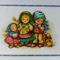 Postales: FELICITACIÓN NAVIDAD - NIÑOS CANTANDO VILLANCICOS - EDITARSA - 1980. Lote 279473763