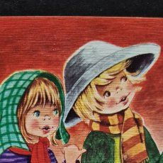 Cartoline: PRECIOSA POSTAL DE NAVIDAD. DIPTICO. GLORIA. ESCRITA. Lote 284682468
