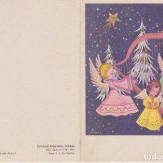 Postales: TARJETA DE FELICITACIÓN DE NAVIDAD. ALELUYA Nº 180 EDITORIAL ARTIS MUTI MADRID. ARNULF 1964. Lote 285567293