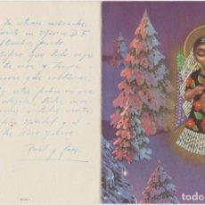Postales: TARJETA DE FELICITACIÓN DE NAVIDAD. S 125-1 ESCRITA Y FECHADA 1959. Lote 285571608