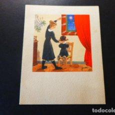 Cartes Postales: FELICITACION NAVIDAD JANDRO ILUSTRADOR 13 X 10 CMTS. Lote 287470183