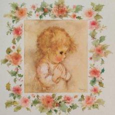 Postales: 0841Ñ - MARY HAMILTON - EDICIONES HALLMARK PX 131-7 - DIPTICA 16X11 CM- NUEVA. Lote 287949683