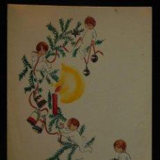 Postales: POSTAL DÍPTICO DE C. VICENS VIVES, ESCRITA, 1956. 18 X 13CM.. Lote 288229358