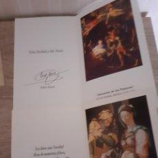 Postales: LOTE DE 2 POSTALES NAVIDEÑAS ,ENVIADAS POR EL CORTE INGLES ,AÑOS 1992 Y 1999.. Lote 288337628