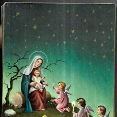 Postales: POSTAL NAVIDAD P. VENTURA * LA VIRGEN CON EL NIÑO , CON UNOS ANGELITOS * CECAMI. Lote 288353728