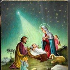 Postales: POSTAL NAVIDAD P. VENTURA * MARIA ,JOSÉ Y JESÚS * CECAMI. Lote 288354498