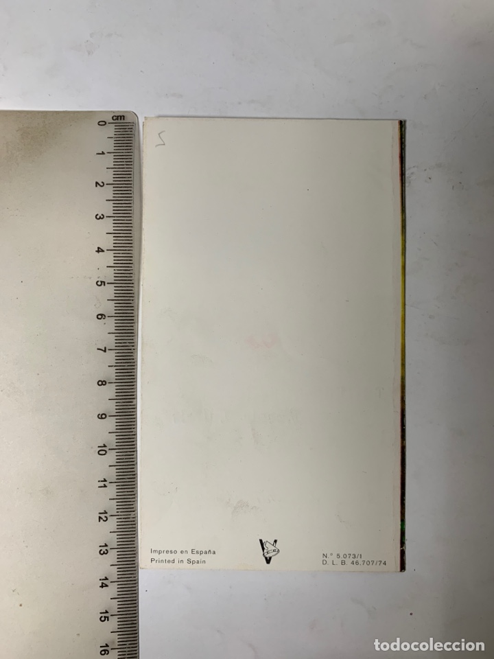 Postales: FELICITACIÓN NAVIDAD. DIPTICO. ILUSTRACION?. PUBLICIDAD VICENTE CALVETE. VIKINGO. - Foto 3 - 288545433