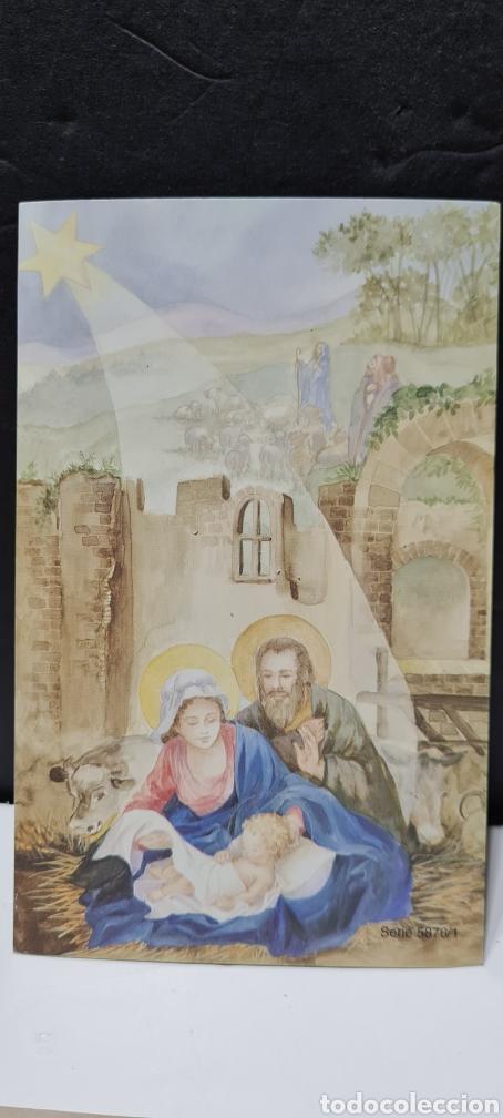 Postales: Preciosa postal de Navidad. Sin escribir. - Foto 5 - 288660338