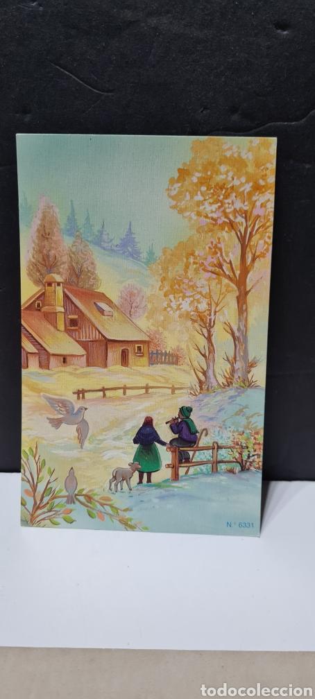 Postales: Preciosa postal de Navidad. Sin escribir. - Foto 3 - 288661868
