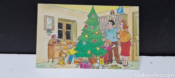 Postales: Preciosa postal de Navidad. Sin escribir. - Foto 3 - 288663343