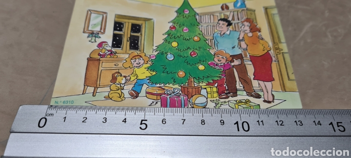 Postales: Preciosa postal de Navidad. Sin escribir. - Foto 4 - 288663343