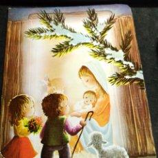 Postales: FELICITACION NAVIDAD JOAN * LA VIRGEN CON EL NIÑO , CON UNOS PASTORCITOS * 1982. Lote 288899058