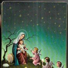 Postales: POSTAL NAVIDAD P. VENTURA * LA VIRGEN CON EL NIÑO , CON UNOS ANGELITOS * CECAMI. Lote 288926063
