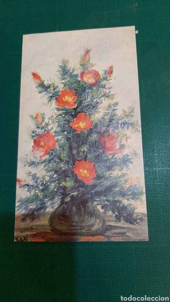 FELICITACIÓN 1332 JARRÓN FLIRES LEGRIX ARTIS MUTIS MADRID VER MIS LOTES POSTALES (Postales - Postales Temáticas - Navidad)