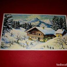 Postales: POSTAL DE NAVIDAD TIPO DÍPTICO. Lote 294453058