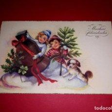 Postales: POSTAL DE NAVIDAD ANTIGUA. Lote 294455648