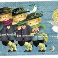 Postales: 143 - FELICITACION NAVIDAD FERRÀNDIZ * DESARRUGA EL CEÑO.... * 1962 (23 X 12 ). Lote 296024423