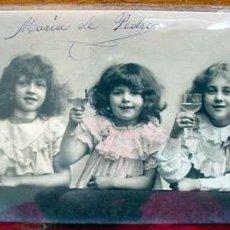 Postales: ANTIGUA POSTAL DE NIÑAS 1905-1915. Lote 911015