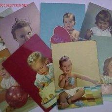 Postales: LOTE 8 POSTALES ITALIANAS DE NIÑOS. Lote 3960011