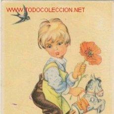 Postales: POSTAL NIÑO CON JUGUETES. Lote 27401980