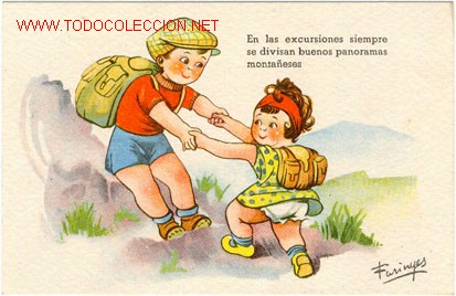 POSTAL DE NIÑOS (Postales - Postales Temáticas - Niños)