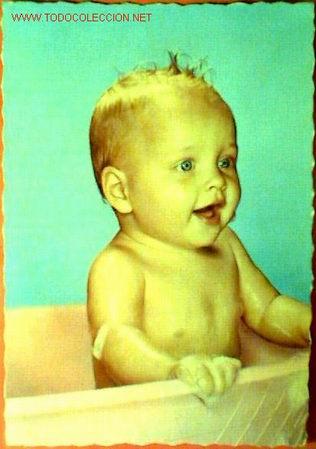 POSTAL NIÑO FECHADA 1962 (Postales - Postales Temáticas - Niños)